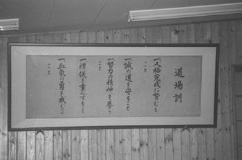 Karate Training in Japan