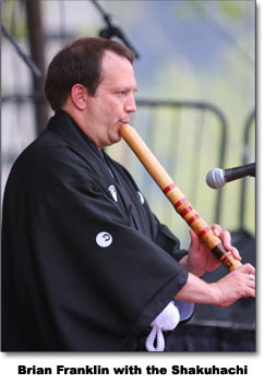 Brian Franklin and the Shakuhachi